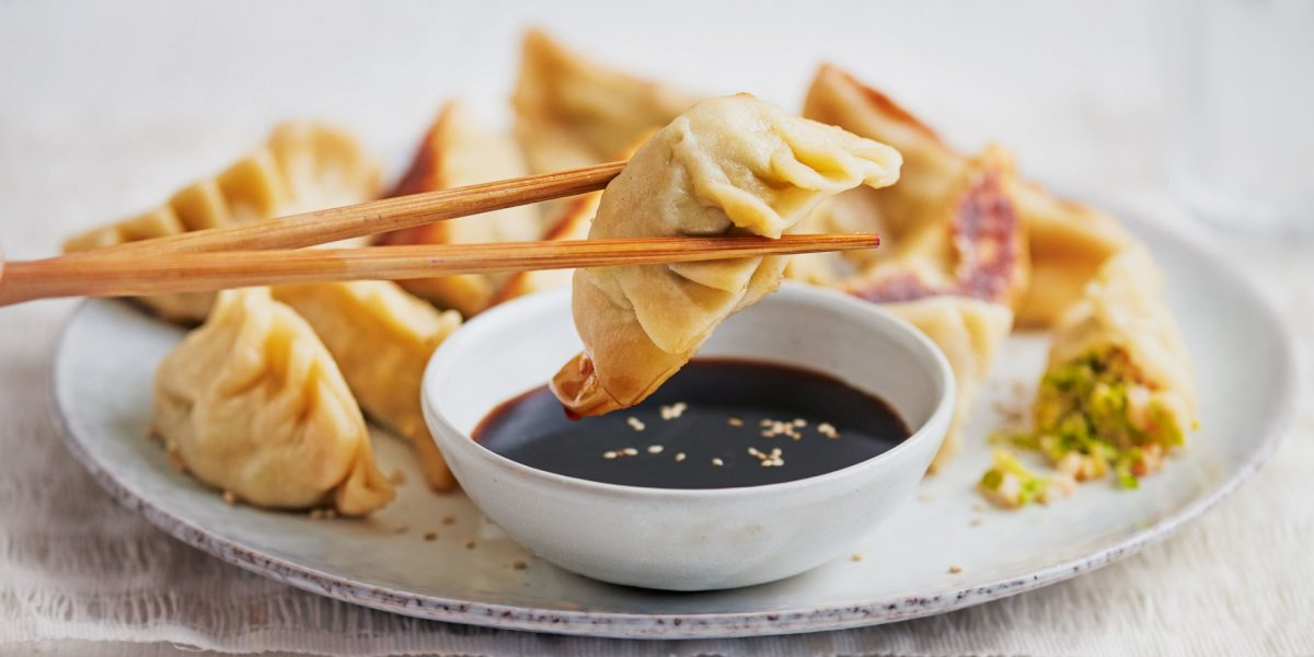 cara membuat dumpling goreng