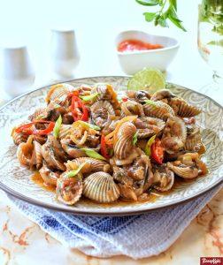 cara memasak kerang dara rebus