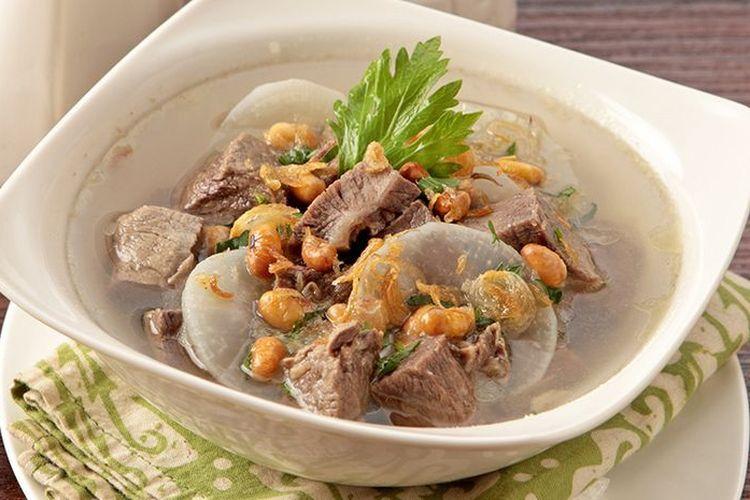 resep soto daging sapi bening bandung