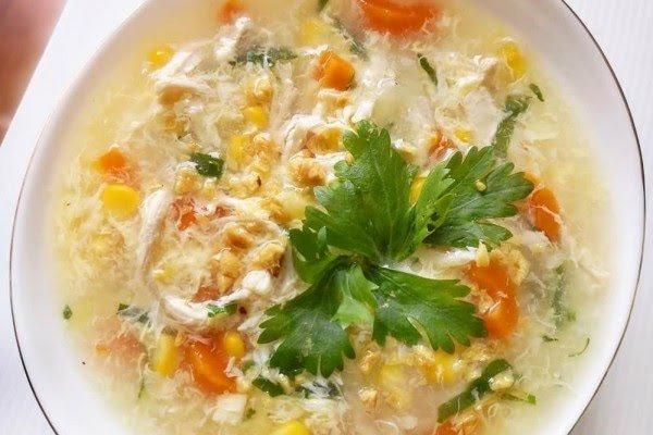 Resep Sup Jagung Ayam Manis Enak, Lezat dan Sederhana
