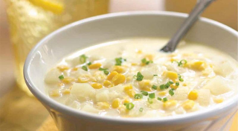 cara membuat sup krim jagung