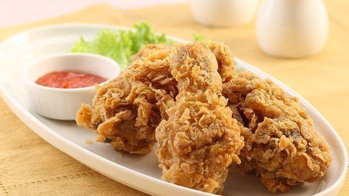 Cara Membuat Ayam Crispy Dengan Tepung Yang Enak